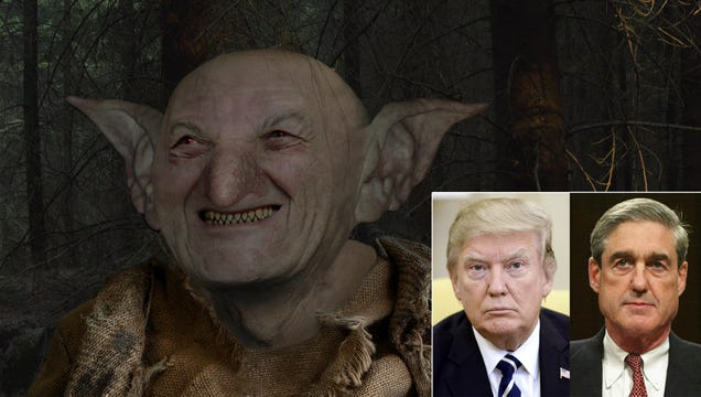 Grumblethor The Mischievous Pleased With Mayhem His Magical Antics Have Wrought Upon White House–FBI Relations