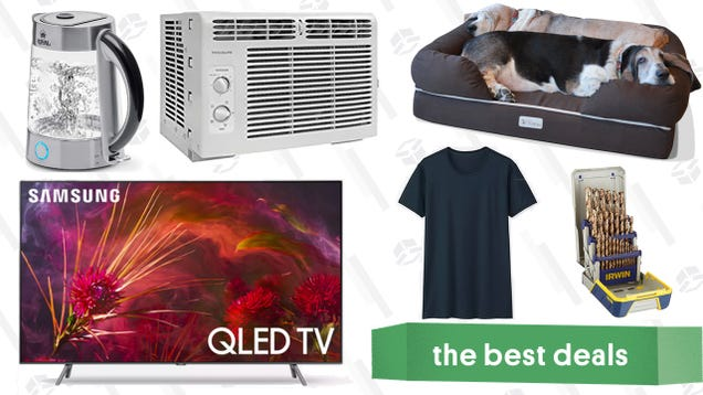 Saturdays best deals qled 4k tvs uniqlo basics sale air saturdays best deals qled 4k tvs uniqlo basics sale air conditioners and more fandeluxe Choice Image