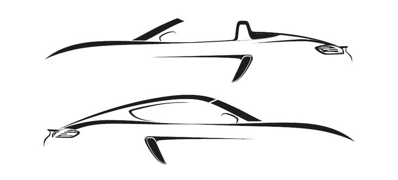 Illustration for article titled 2016 Porsche Boxster And Cayman Will Be Called '718'