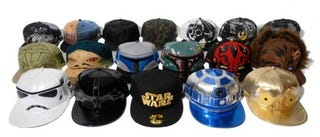 Illustration for article titled Warning: Wearing These Star Wars Baseball Caps May Be Dangerous for Your Health