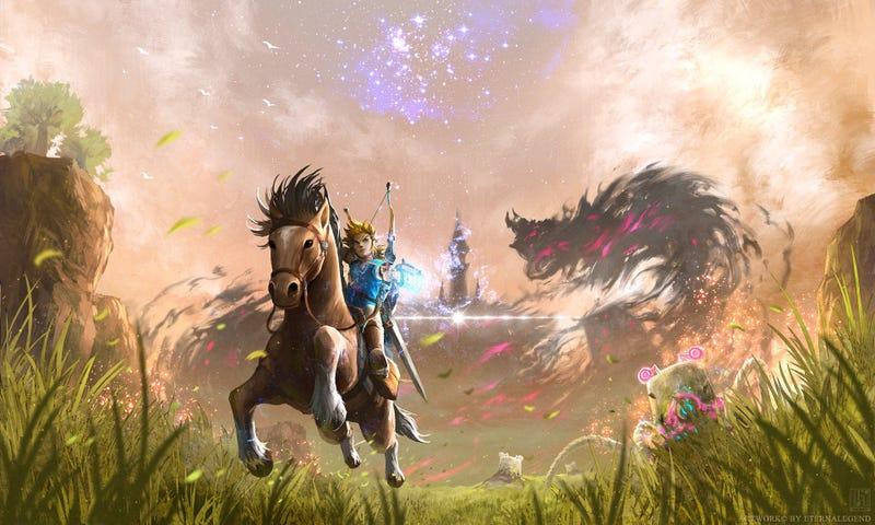 Illustration for article titled Zelda Death Haiku
