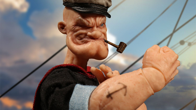 This Realistic Popeye Figure Is a Nightmare the World Was Not Meant to See