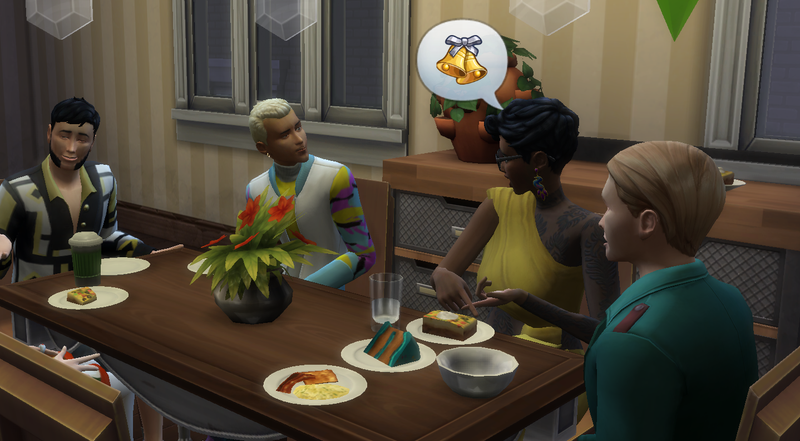 Illustration for article titled Doing Thanksgiving In The Sims 4 Is Like Herding Cats