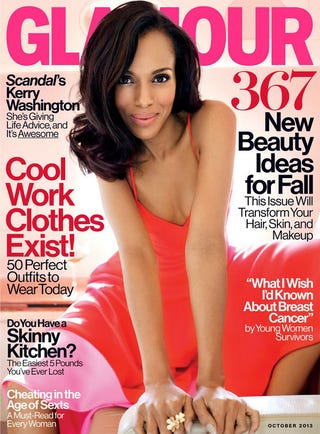 Illustration for article titled Awesome: Kerry Washington Lands Yet Another Ladymag Cover