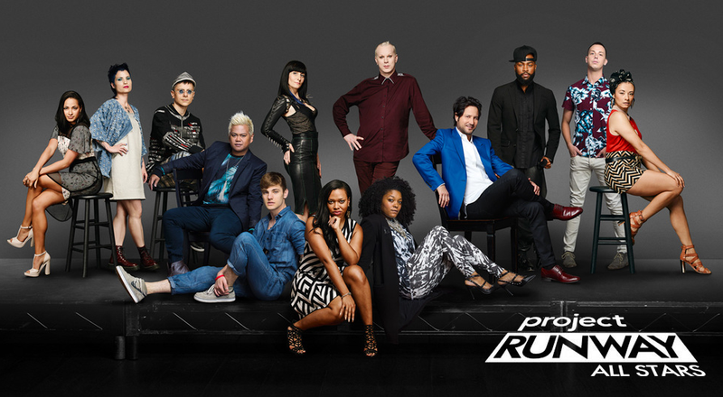 Project Runway Colon All Stars Season Five Contestants Posed For This Picture. Just look at them.