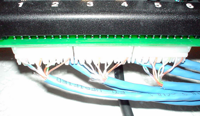 how to wire your house with cat5e or cat6 ethernet cablePictured Above Short Patch Cables Up To The Switch The Aluminum Is #21