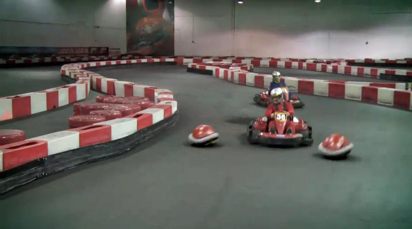 Idea For A Real Life Mario Kart