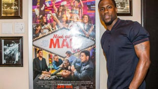 Kevin Hart at the Think Like a Man Too screening at the Prytania Theatre in New Orleans May 7, 2014 Skip Bolen/Getty Images for Moroch