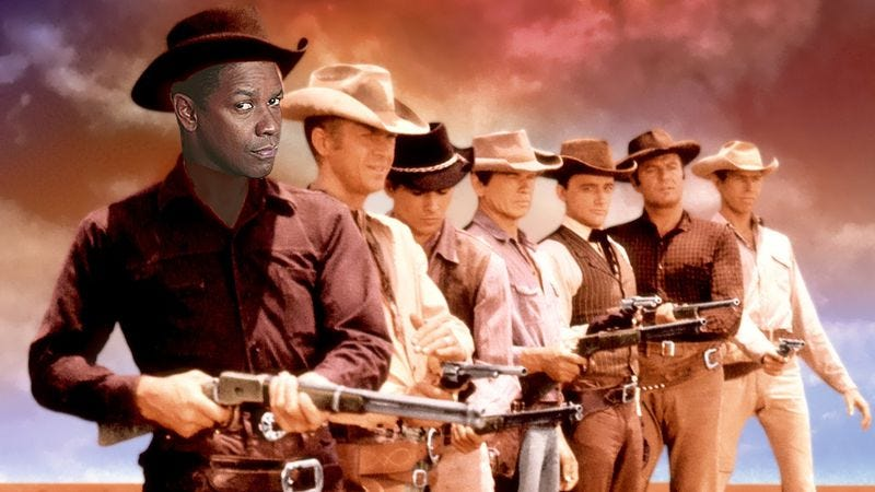 Illustration for article titled Antoine Fuqua and Denzel Washington to remake The Magnificent Seven