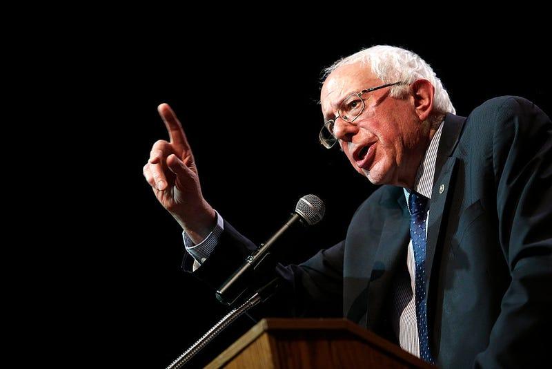 Sen. Bernie Sanders, I-Vt. (Joshua Lott/Getty Images)