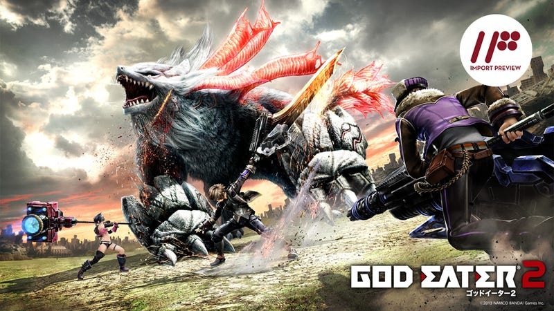 Illustration for article titled God Eater 2 is a Fun Hunting Game, if That's What You're Looking For