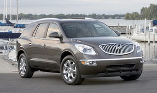 Illustration for article titled Pricing! Buick Enclave Breaks Out Of The Woods, Starts At $32,790