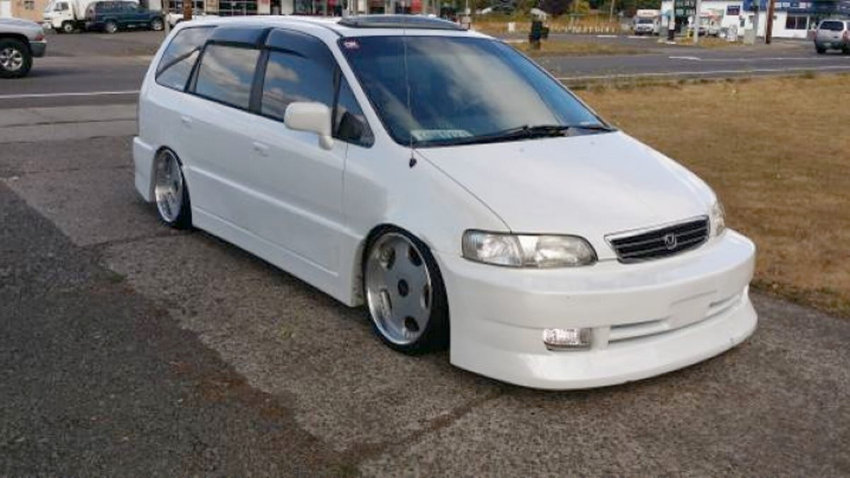 Wow Would You Pay 8000 For This Custom 1998 Honda Odyssey