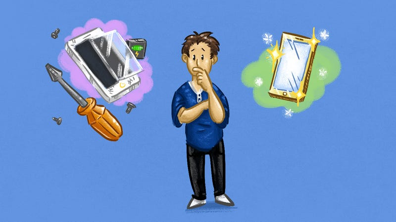 Illustration for article titled Should You Fix That Broken Gadget or Just Buy a New One?