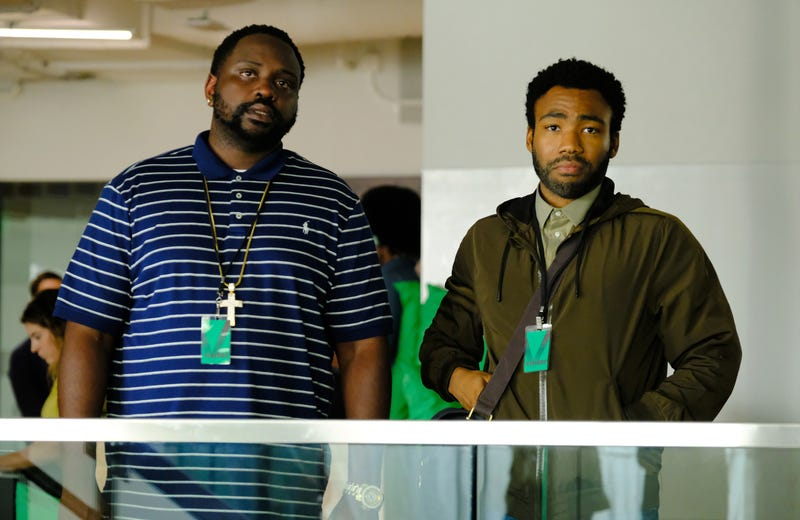 Brian Tyree Henry and Donald Glover