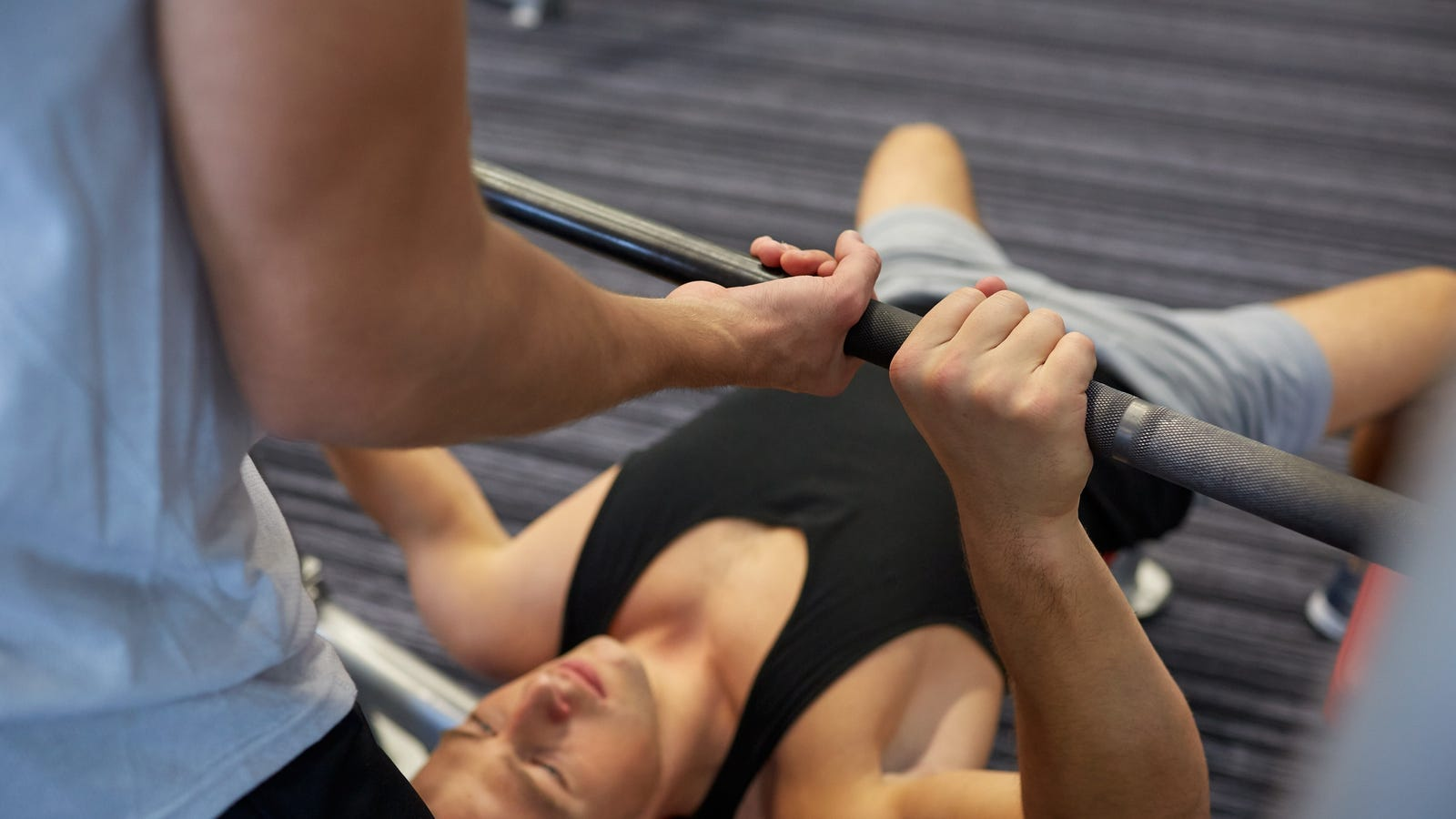 How to Ask Someone to Spot You on the Bench Press