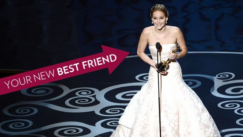 Illustration for article titled 11 Reasons Why Jennifer Lawrence Is Your BFF in Your Head