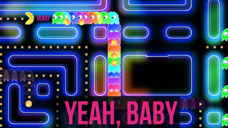 Illustration for article titled If This Pac-Man Game Is Sex, Its Bitchin' Menu Music is the Foreplay