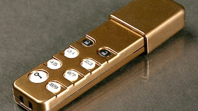 Personal Pocket Safe Usb Drive So Secure It Has Its Own