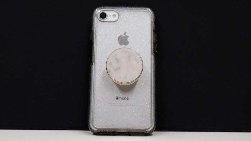Genuine Carrara Marble PopGrip | $30 | PopSocket