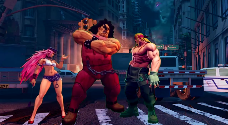 Illustration for article titled Fan Video Recreates Old Character Intros In Street Fighter V