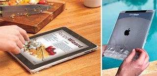 Illustration for article titled CleverWraps Thinks People Will Spend $5 on a Disposable Plastic iPad Wrap