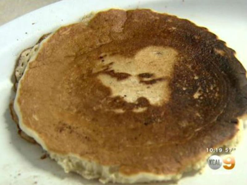 Illustration for article titled Jesus Makes Stunning Appearance in California Woman's Pancake