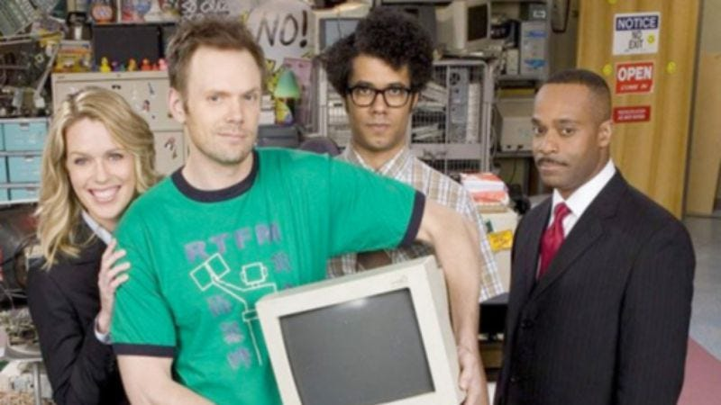 NBC tries turning its The IT Crowd remake on again