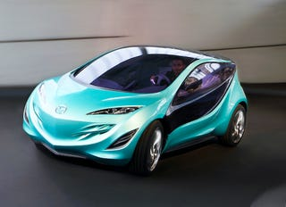 Illustration for article titled Mazda Kiyora Concept Shows More Nagare Styling; Why Won't They Just Build One Already?
