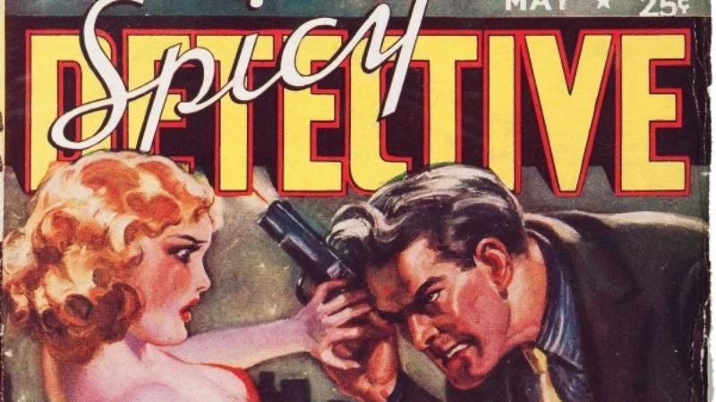 Illustration for article titled Editors of 1930s pulp Spicy Detective have some thoughts on keeping it classy