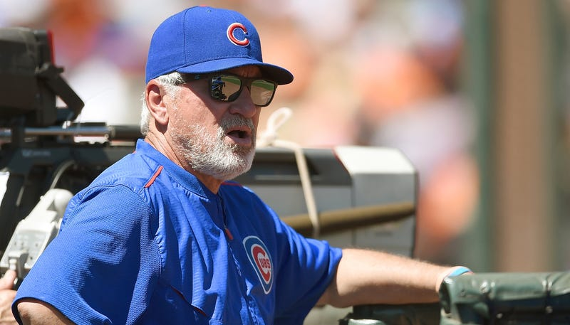 Illustration for article titled Joe Maddon Says AC/DC Screwed Up Wrigley Field
