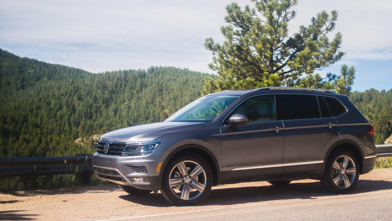 The 2018 Volkswagen Tiguan Is Sterile But Has A Third Row Because You Arenu0027t