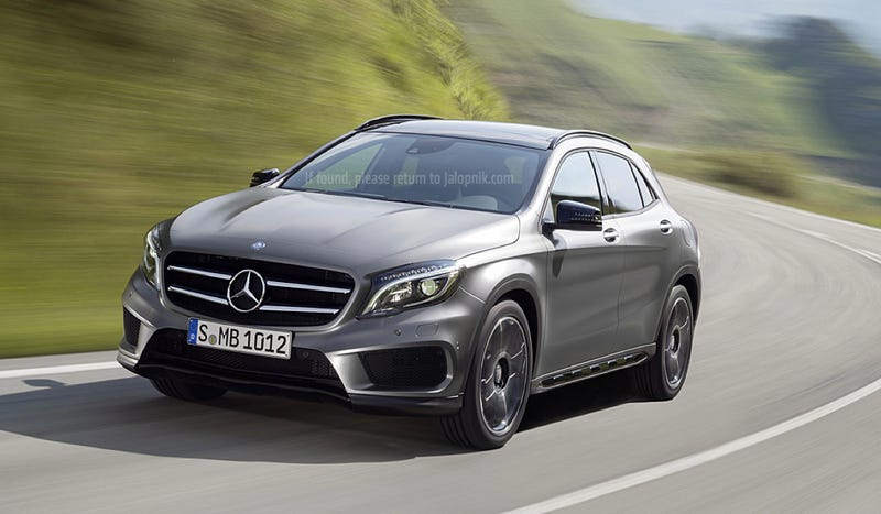 Illustration for article titled 2015 Mercedes-Benz GLA: This Is It