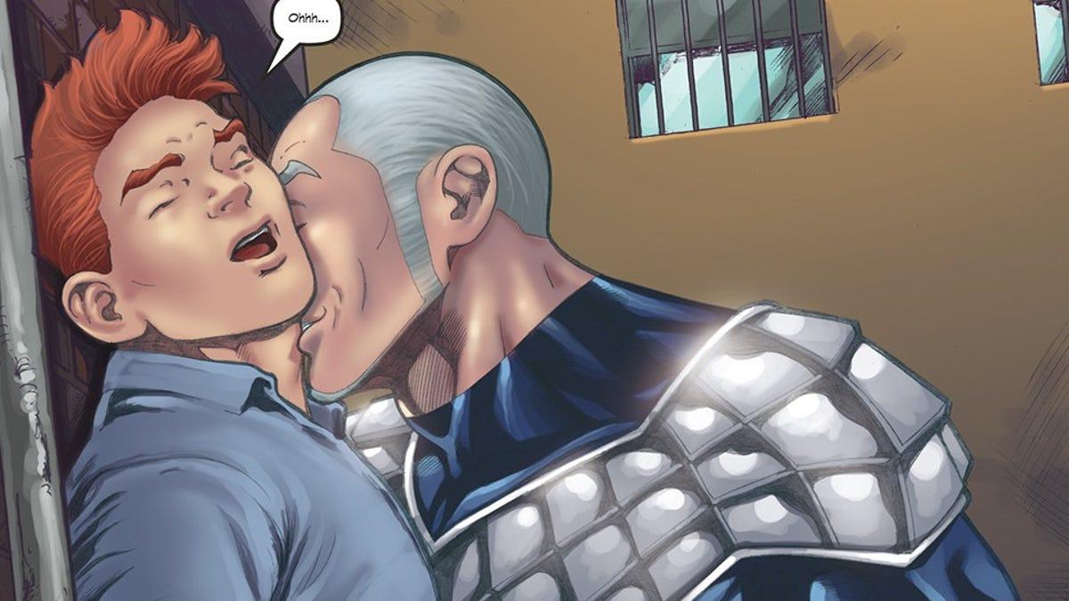 Gay comic heroes