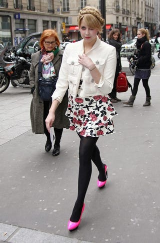 Illustration for article titled Peaches Geldof Does Not Impress Parisian Woman
