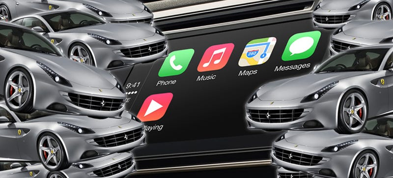 Illustration for article titled ​Even A Ferrari Can't Make Apple Developers Care About Cars