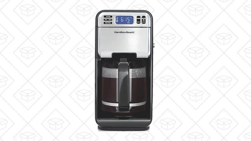 Hamilton Beach 12-cup Programmable Coffee Maker, $35