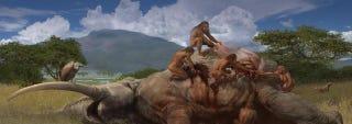 """Illustration for article titled El """"padre"""" de todos los humanos tiene más de 340.000 años"""