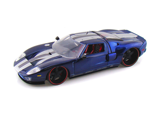I really like the Ford GT, but I couldn't find a good Gulf Racing photo. Photo Credit: www.diecasthobbyusa.com