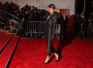Illustration for article titled Rihanna Is Back...In Black