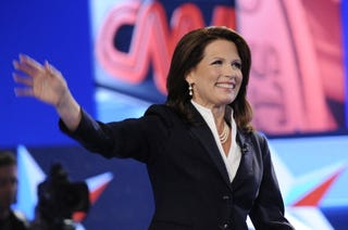Michele Bachmann's facts aren't so factual. (Getty)