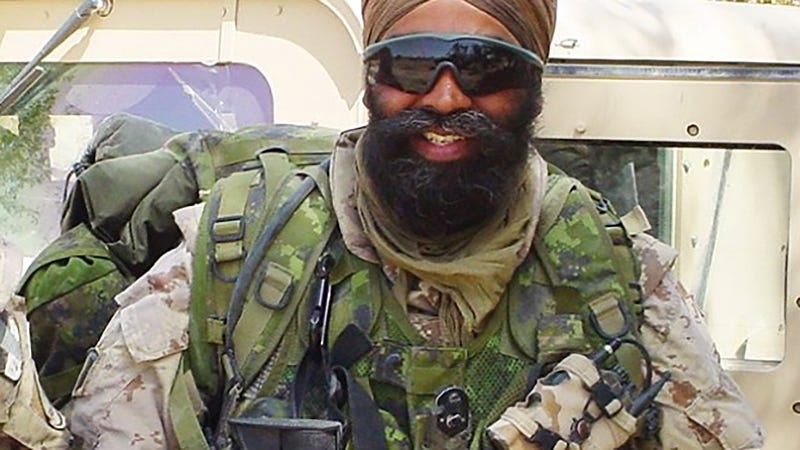 Illustration for article titled Canada's New Minister Of Defense Is This Badass Sikh-Canadian Warrior