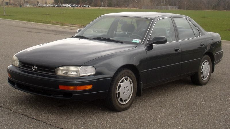 Toyota Recalls 1993 Camry Due To Fact That Owners Really
