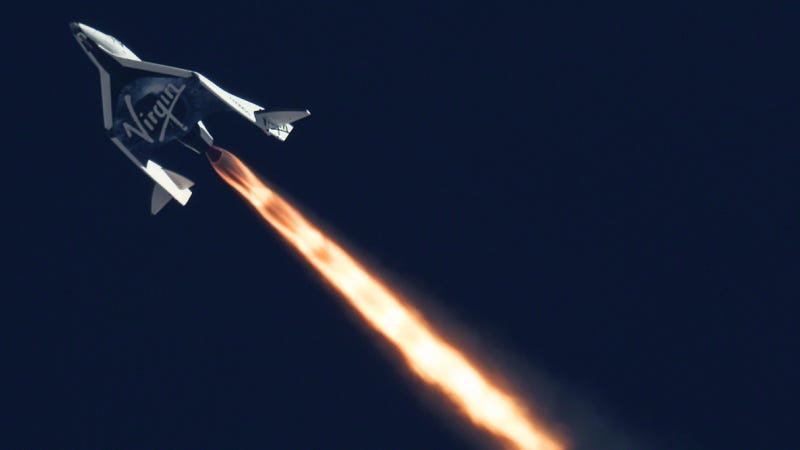 Illustration for article titled Virgin Galactic says it's on track to begin tours of space in 2014