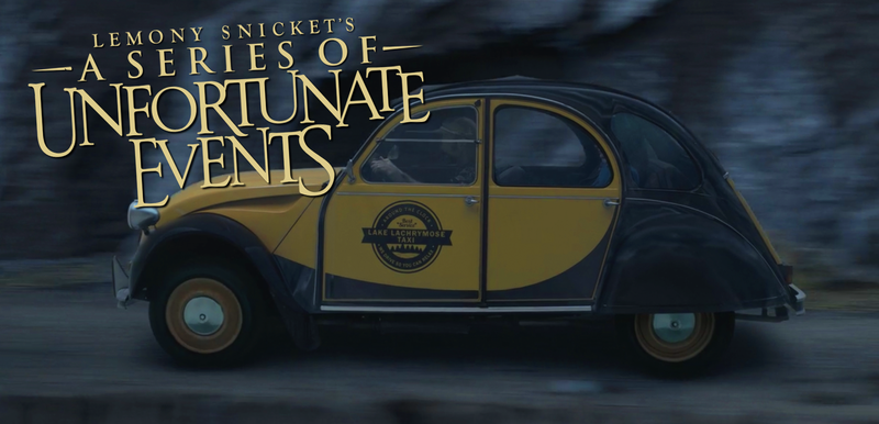 Illustration for article titled A Series Of Unfortunate EventsHas The Best Cars Of Anything You Can Watch Right Now