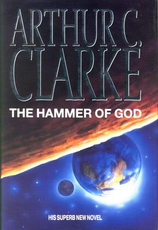 "Illustration for article titled Read Arthur C. Clarke's original ""Hammer of God"" short story online"