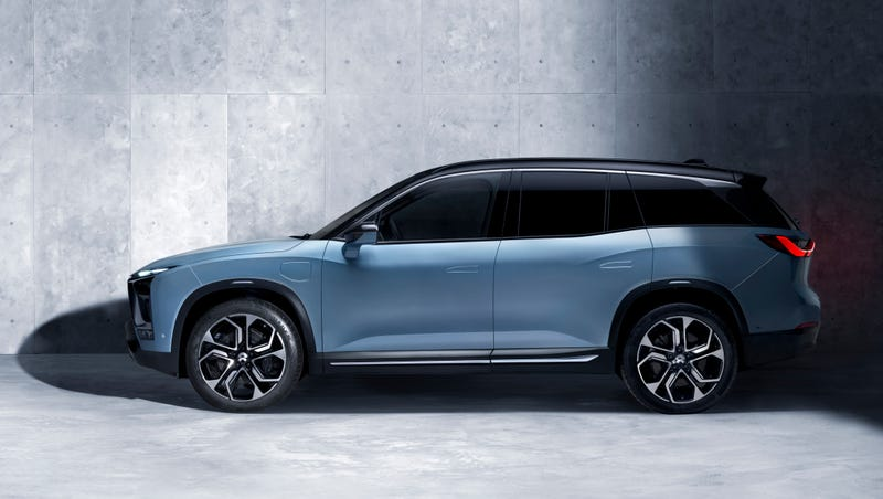 China's Nio Unveils Car At Half The Price Of Tesla Model X