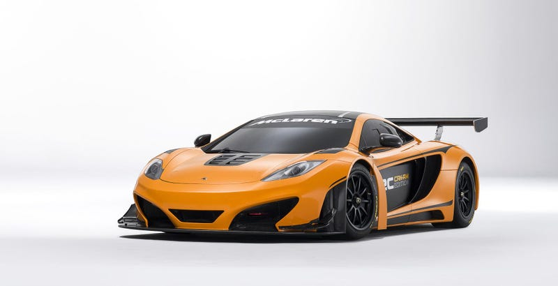 Illustration for article titled McLaren MP4-12C  Can-Am Concept: First Photos