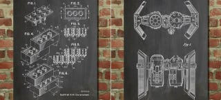 Illustration for article titled Posters of Famous Patents Put Other People's Great Ideas On Your Wall