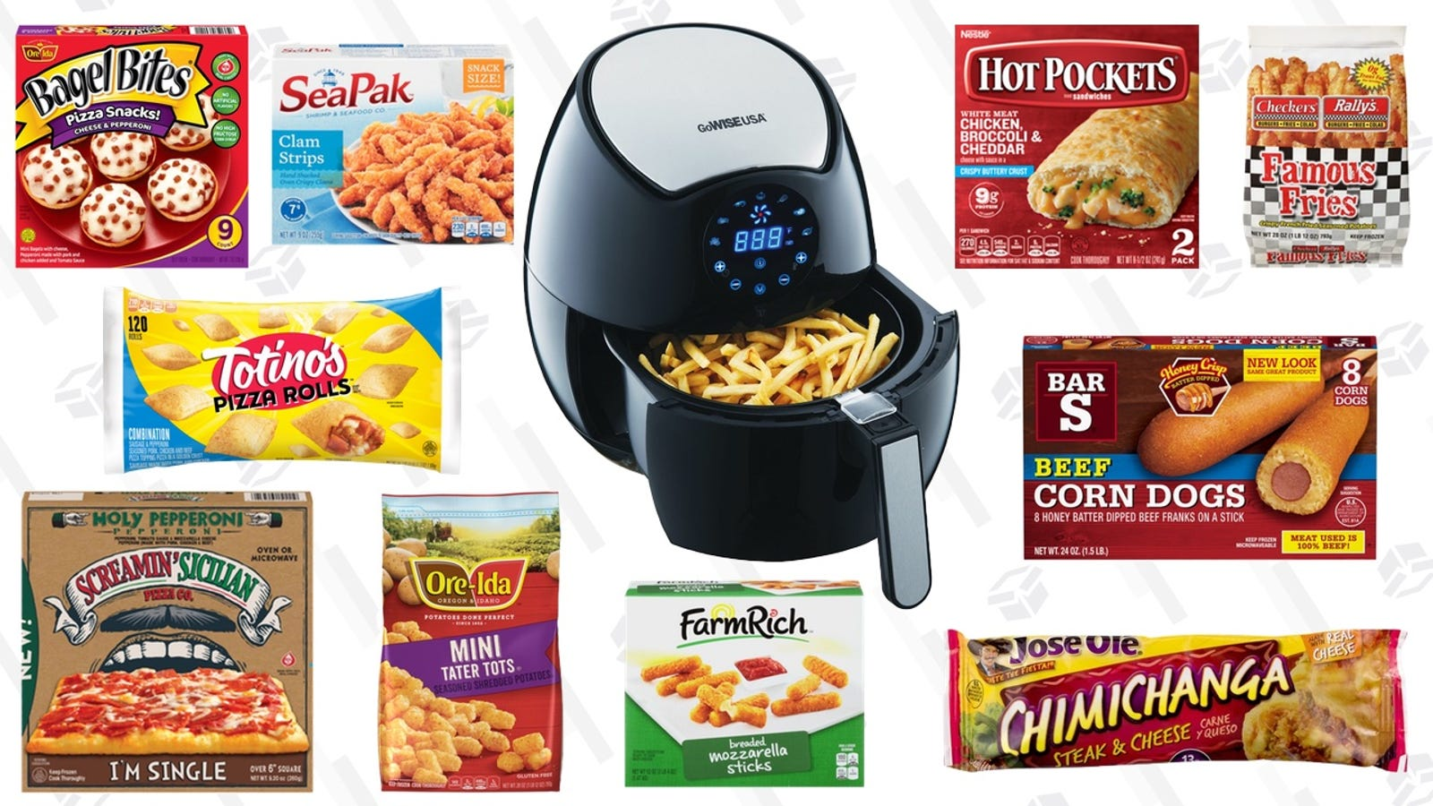The Best Frozen Foods To Cook In Your Air Fryer, And How To Cook Them